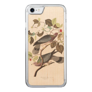 Audubon Plate 367 Band-tailed Pigeon Carved iPhone 8/7 Case