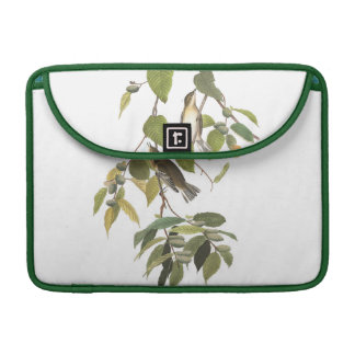 Audubon Plate 88 Autumnal Warbler Sleeve For MacBook Pro