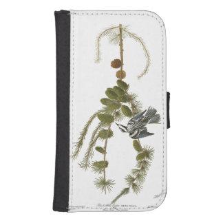 Audubon Plate 90 Black & White Creeper Phone Wallet