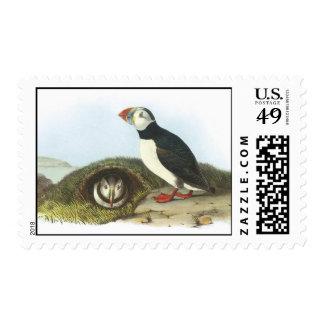 Audubon Puffin Postage