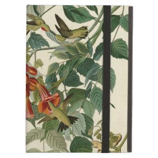 Audubon Ruby Throated Hummingbirds iPad Air Cover