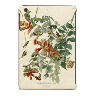 Audubon Ruby Throated Hummingbirds iPad Mini Covers