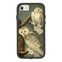 Audubon Snowy Owl Illustration Art Painting Case-Mate Tough Extreme iPhone 8/7 Case