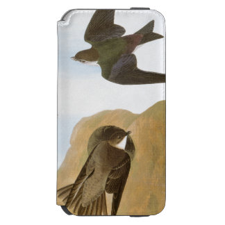 Audubon: Swallows iPhone 6/6s Wallet Case