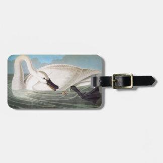 Audubon: Trumpeter Swan Bag Tag