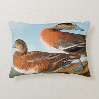 Audubon: Wigeon Decorative Pillow