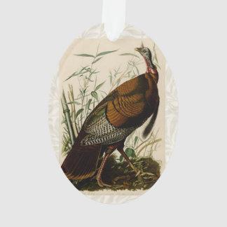Audubon Wild Turkey Vintage Birds of America Ornament