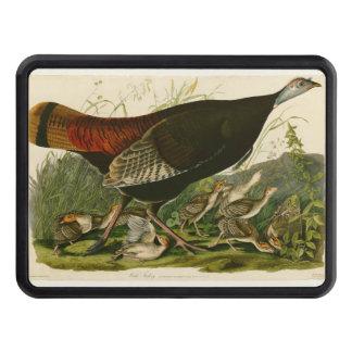 Audubon Wild Turkey Vintage Birds of America Trailer Hitch Cover