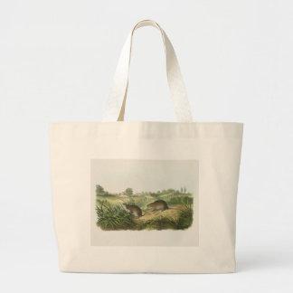 Audubon - Wilson's Meadow Mouse Jumbo Tote Bag