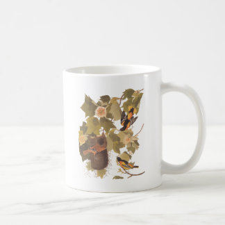 Audubon's Baltimore Oriole Trio Coffee Mug