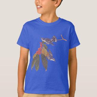 Audubon's Cerulean Blue-Green Warbler Birds T-Shirt