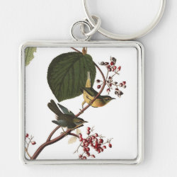Premium Square Keychain with Audubon's