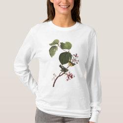 Women's Basic Long Sleeve T-Shirt with Audubon's