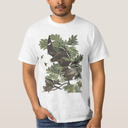 Men's Crew Value T-Shirt with Audubon's Night Hawk design
