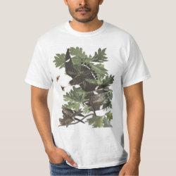 Men's Crew Value T-Shirt with Audubon's Night Hawk design
