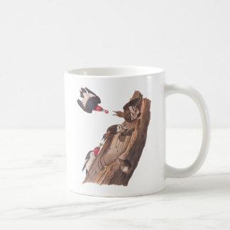 Audubon's Red Headed woodpeckers Coffee Mug