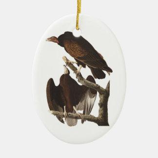 Audubon's Turkey Vulture Christmas Ornaments