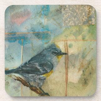 Audubon's Warbler Beverage Coaster