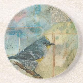 Audubon's Warbler Drink Coaster