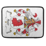 Auer Family Crest Sleeves For MacBooks