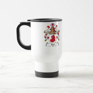 Auer Family Crest Travel Mug