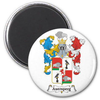Auersperg Family Hungarian Coat of Arms 2 Inch Round Magnet
