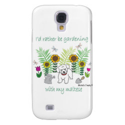 Case-Mate Barely There Samsung Galaxy S4 Case with Maltese Phone Cases design