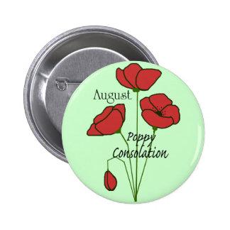 Aug Poppy Consolation button