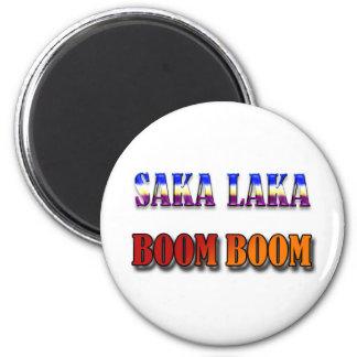 Auge del auge de Saka Laka Imán Redondo 5 Cm