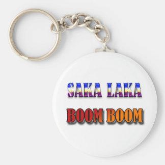 Auge del auge de Saka Laka Llavero Redondo Tipo Pin