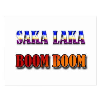 Auge del auge de Saka Laka Postal