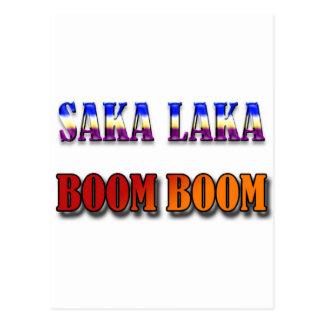 Auge del auge de Saka Laka Postales