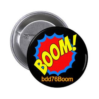 ¡Auge! Insignia del Emoticon bdd76Boom Pin Redondo 5 Cm