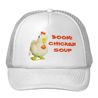 ¡Auge! La sopa de pollo enrolla para arriba el Gorros