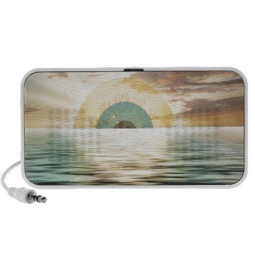 Augensonne - Sonnenauge iPod Altavoz