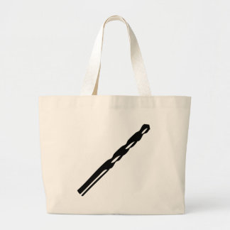 auger icon large tote bag