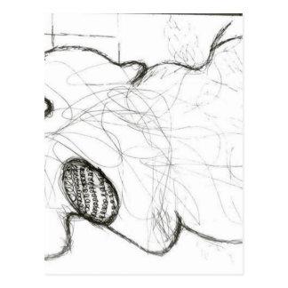 Augmented Morphology of A Modern Figure Postcard