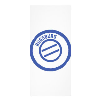 Augsburg Custom Rack Card