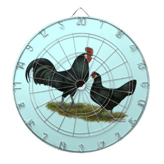 Augsburger Chickens Dartboard With Darts