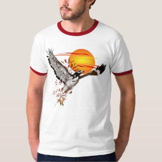 Augur que encuentra el sol de la mañana. Camisetas