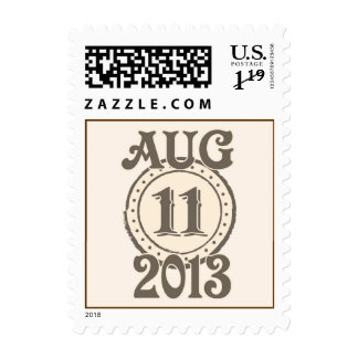 August 11 2013 stamp