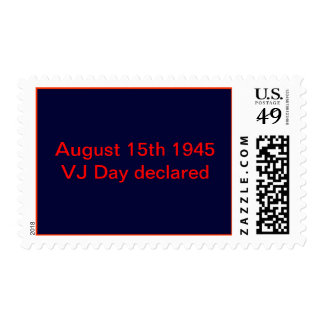 August 15th 1945 stamps
