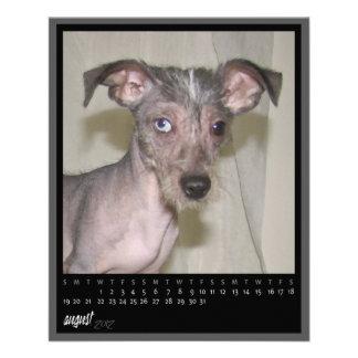 august 2012 calendar flyer