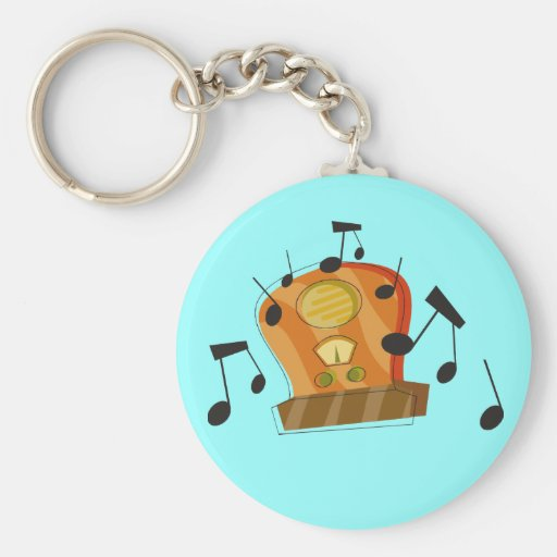 August 20th, National Radio Day Key Chains
