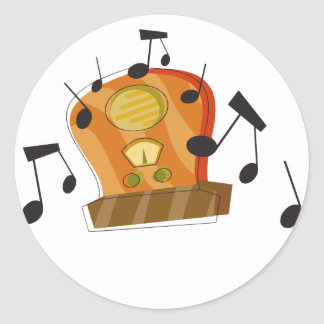 August 20th National Radio Day Stickers