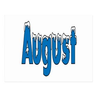 August 3 postcard