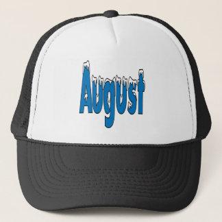 August 3 trucker hat