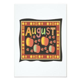 August 4 card