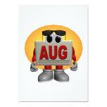 "August 5"" X 7"" Invitation Card"