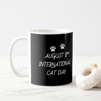 August 8th International Cat Day Coffee Mug